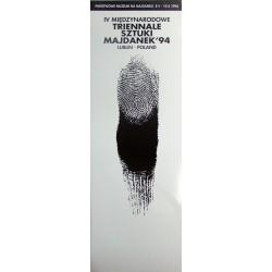 IV Międzynarodow e Triennale Sztuki Majdanek '94. Lublin Poland