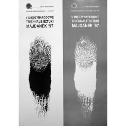 V Międzynarodow e Triennale Sztuki Majdanek '97