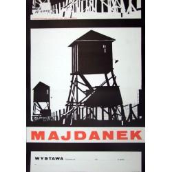 Majdanek – plakat informacyjny