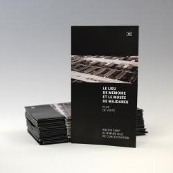 Le Lieu de Memoire et le Musee de Majdanek. Plan de visite.