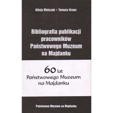 The publication presents the literary works of the Museum's employees until 2003.
