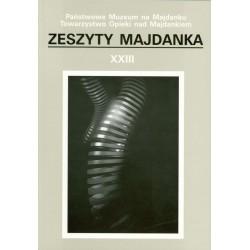Zeszyty Majdanka, Tom XXIII