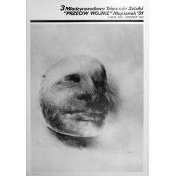 III Międzynarodow e Triennale Sztuki Przeciw Wojnie. Majdanek '91