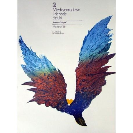 II Międzynarodow e Triennale Sztuki Przeciw Wojnie. Majdanek '88